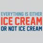 Everything Is Ice Cream Or Not Ice Cream artwork