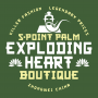 5-Point Palm Exploding Heart Boutique artwork