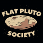 Flat Pluto Society artwork