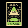 The Guac Tarot artwork