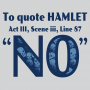 To Quote Hamlet artwork