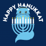 Happy Hanukkat artwork