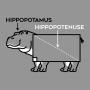 Hippopotenuse artwork