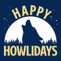 Happy Howlidays artwork