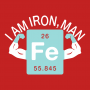 I Am Iron, Man artwork