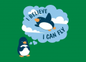 I Believe I Can Fly artwork