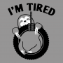 I'm Tired Sloth artwork