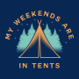 My Weekends Are In Tents artwork