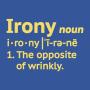 Irony Definition artwork