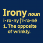 Irony Definition artwork