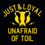 Just And Loyal, Unafraid Of Toil artwork