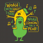 Lemon On A Pear artwork