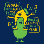 Lemon On A Pear artwork