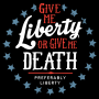Liberty Or Death, Preferably Liberty artwork