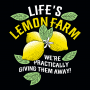 Life's Lemon Farm artwork