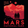 Mars National Park artwork