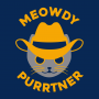 Meowdy Purrtner artwork