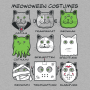 Meowoween Costumes artwork