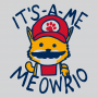 It's-a-me Meowrio artwork