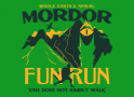 Mordor Fun Run artwork