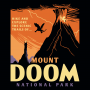 Mount Doom National Park artwork