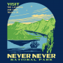 Never Never National Park artwork