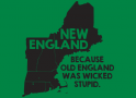 New England, Because Old England Was Wicked Stupid artwork