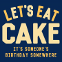 Let's Eat Cake artwork