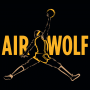 Air Wolf artwork