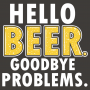 Hello Beer. Goodbye Problems. artwork