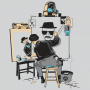 Heisenberg Self Portrait artwork