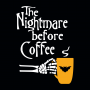 The Nightmare Before Coffee artwork