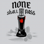 None Shall Pass Black Knight artwork