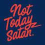 Not Today Satan artwork