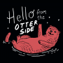 Hello From The Otter Side artwork