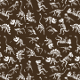 Dinos Pattern print artwork