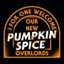 Pumpkin Spice Overlords artwork