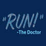 RUN! The Doctor artwork