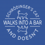 Schrodinger's Cat Walks Into A Bar artwork