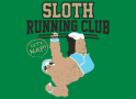 Sloth Running Club artwork