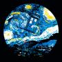 Starry Night Police Box artwork