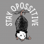 Stay Opossitive artwork