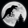 T-Rex Moon artwork