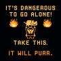 It's Dangerous To Go Alone artwork