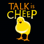 Talk Is Cheep artwork