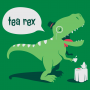 Tea Rex artwork