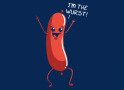 I'm The Wurst artwork