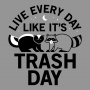 Live Every Day Like It's Trash Day artwork