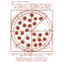 Vitruvian Pizza artwork