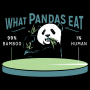 What Pandas Eat artwork